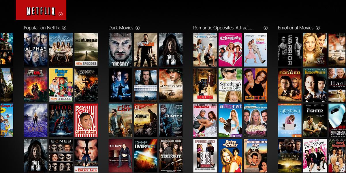 Na Netflix prechádzajú aj starší diváci. Zatiaľ v UK.