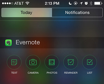 Evernote_widget_iOS_n