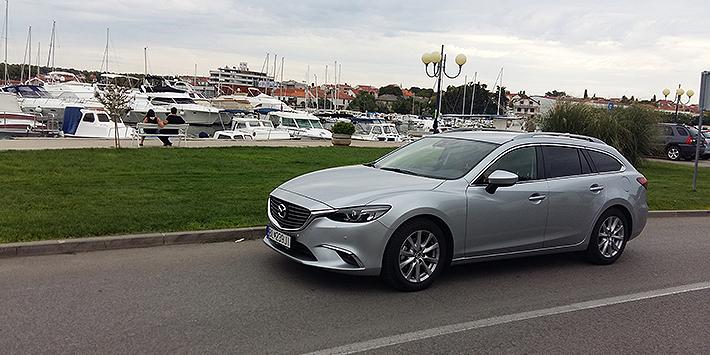 Dovolenka s hviezdou (Mazda6 ako člen rodiny)