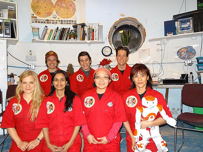 Mars UK crew