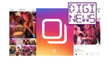 Instagram umožnil publikovanie až 10 obrázkov alebo videí