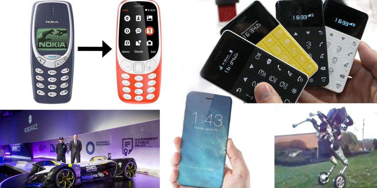 DigiDigest 01: Nová Nokia 3310 a iné hlúpe mobily, iPhone 8, robot parkourista atď.