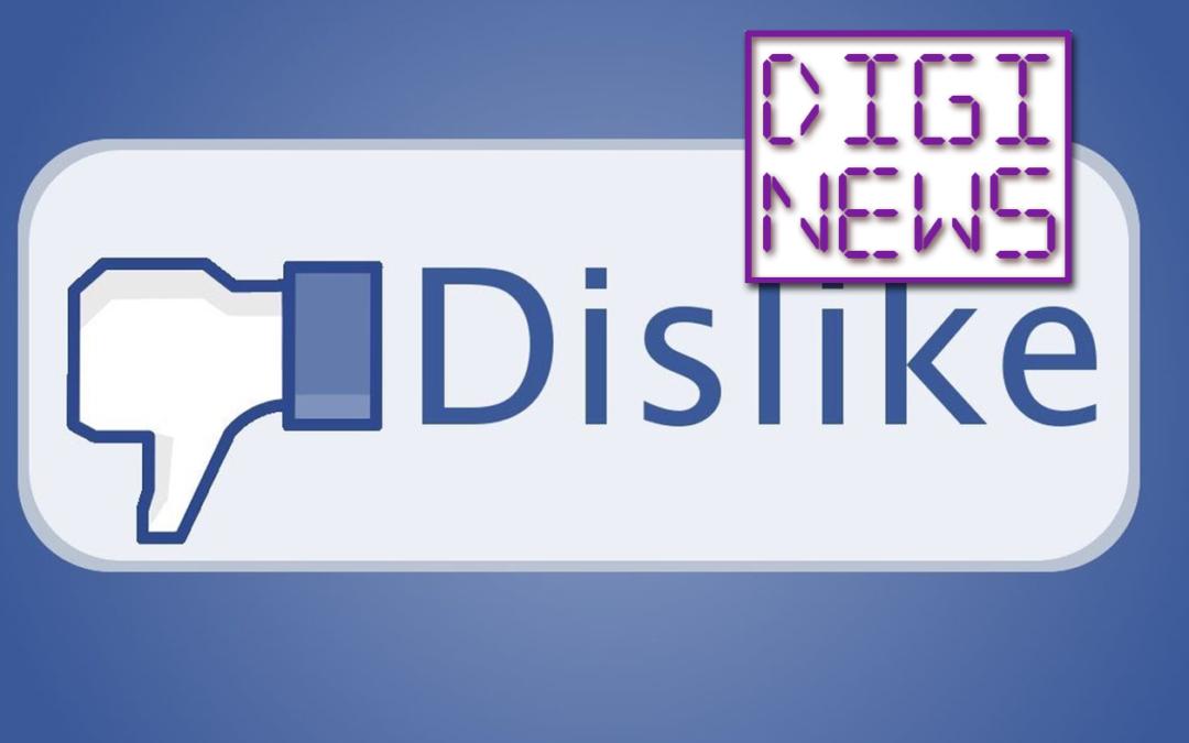 """Palec dole"" na Facebooku je tu!"