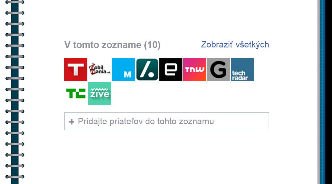 Zoznamy záujmov na Facebooku žijú, len sa volajú inak