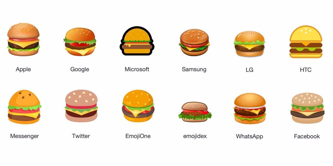Hamburgerový emoji – téma, ktorá otriasla internetom