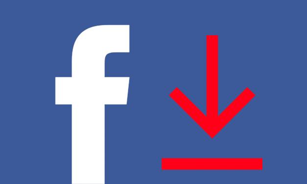 Facebookový profil sa dá stiahnuť na disk. Na čo je to dobré?