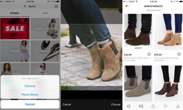 Visual Search: nájdite produkty podľa obrázkov