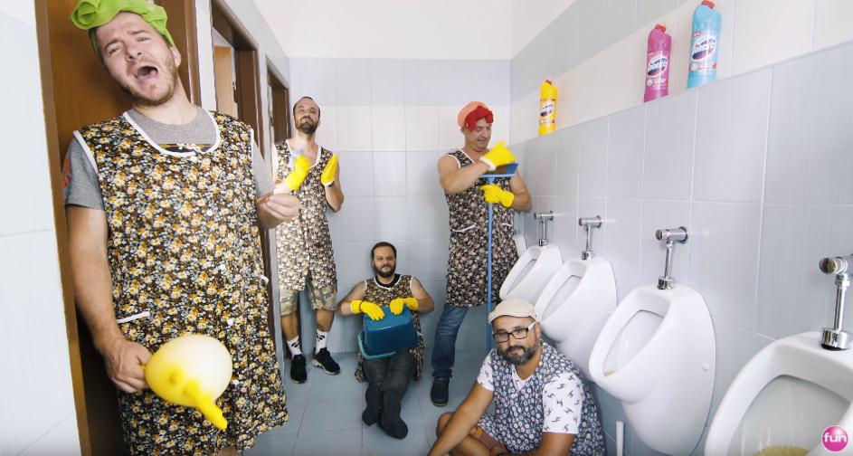 FMO alebo netradičná komunikačná podpora WC čističov