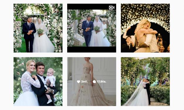 #TheFerragnez – Instagramová svadba roka
