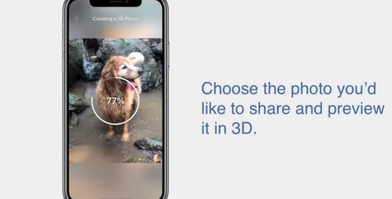 Čo je nové na Facebooku? 3D fotografia.