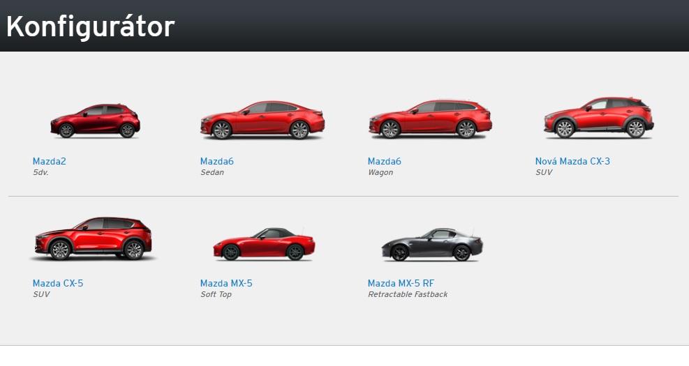 Konfigurátor Mazda je jednoduchý, ale má svoje ALE - TopSpeed.sk