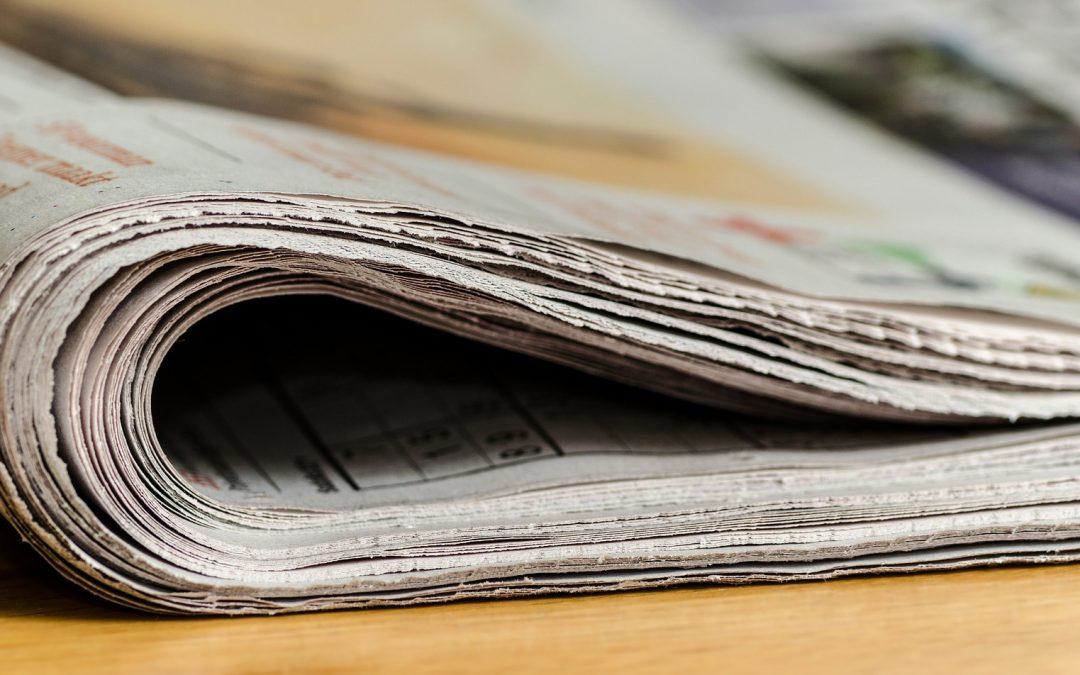 Stručná história tlačených novín