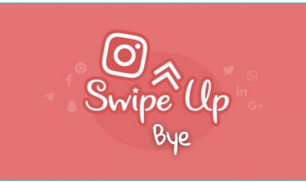 Swipe Up na instagrame končí
