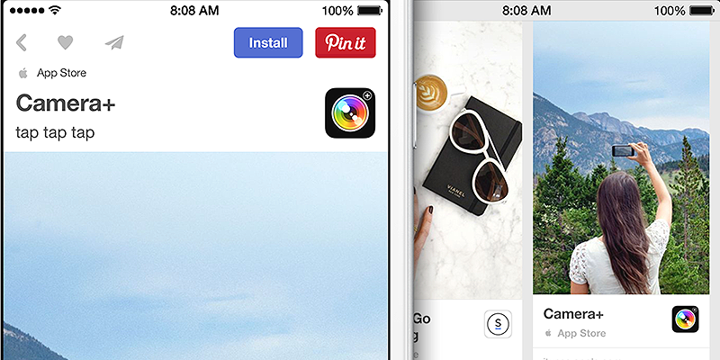 Strácate sa v miliónoch aplikácii v App store? Skúste Pinterest.