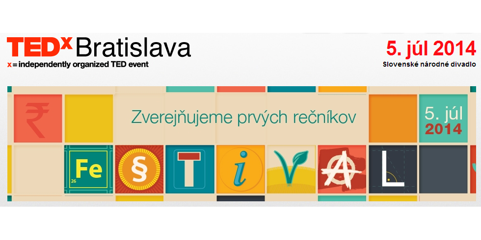 Formát TED núti rečníkov skondenzovať myšlienky (rozhovor s organizátormi TEDx Bratislava)
