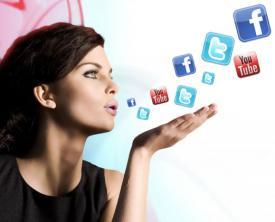 Muži a ženy na sociálnych sieťach